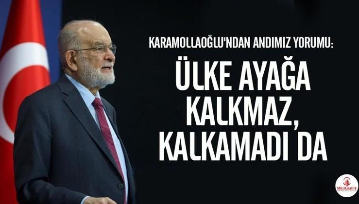 Temel Karamollaoğlu: Her sabah aynı andı tekrar ederek bir ülke ayağa kalkmaz