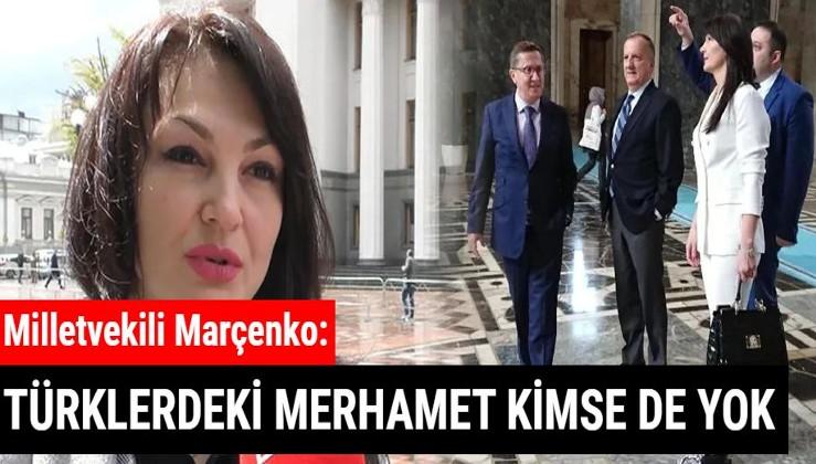 Ukrayna'da 'Ermeni Soykırımı' ifadesinin yasaklanmasında önemli rol oynayan milletvekili Marçenko konuştu