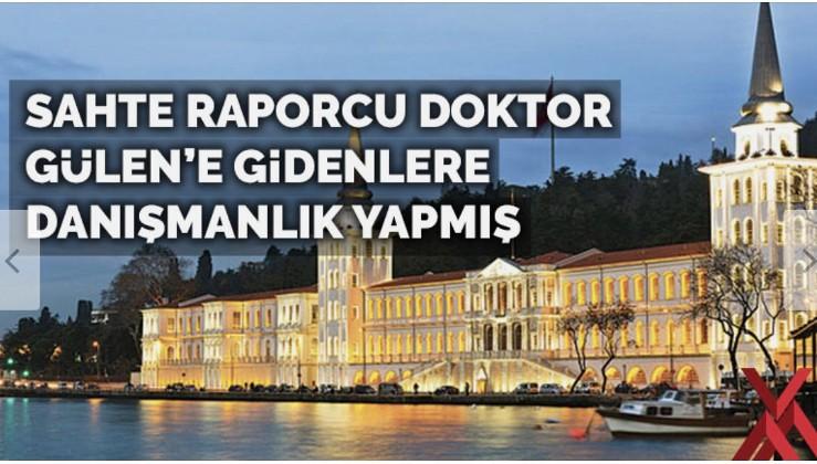 Kuleli'deki sahte raporcu doktor Gülen'i ziyaret edenlere danışmanlık yapmış