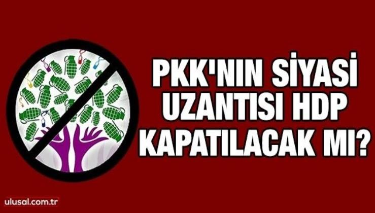 PKK'nın siyasi uzantısı HDP kapatılacak mı?