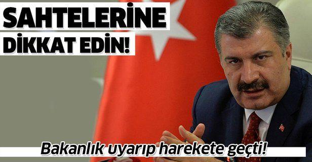 Sağlık Bakanı Fahrettin Koca adına onlarca sahte hesap! Bakanlık Twitter'ı uyararak harekete geçti!.