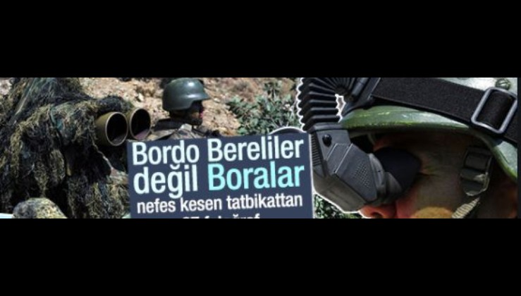 Teröristlerin korkulu rüyası 'Boralar'dan nefes kesen tatbikat