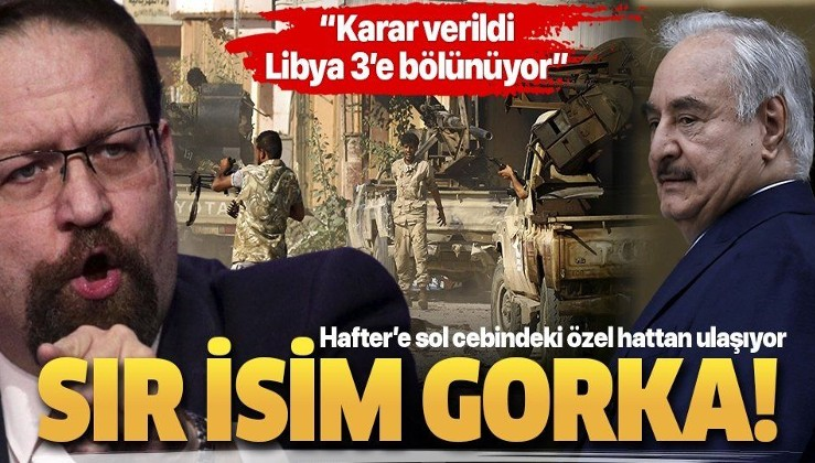 "İşte Hafter'i Moskova'daki masadan kaldıran isim: Sebastian Gorka! Pentagon'un ""Libya patronu"" o"