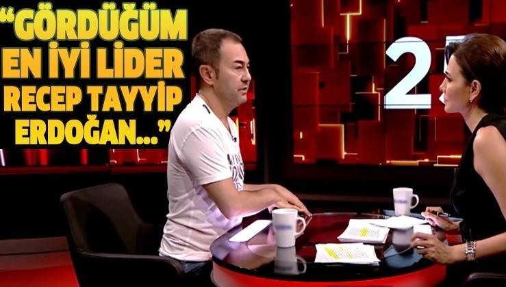 Serdar Ortaç: Gördüğüm en iyi lider Recep Tayyip Erdoğan...