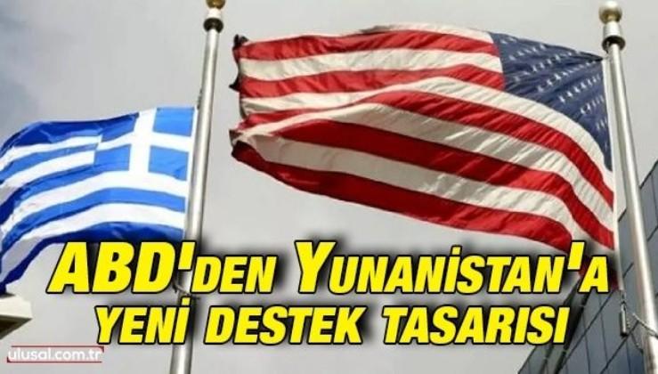 ABD'den Yunanistan'a yeni destek tasarısı