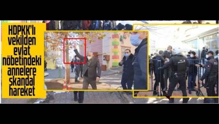 HDPKK'lı milletvekili Erol Katırcıoğlu'ndan skandal hareket!