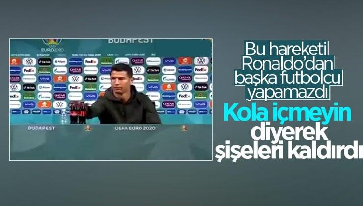 İsrail'e bir darbe de Cristiano Ronaldo'dan...