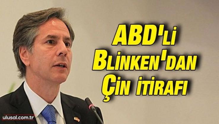 ABD Dışişleri Bakanı Blinken: ''Teknolojide Çin'in gerisinde kalıyoruz''