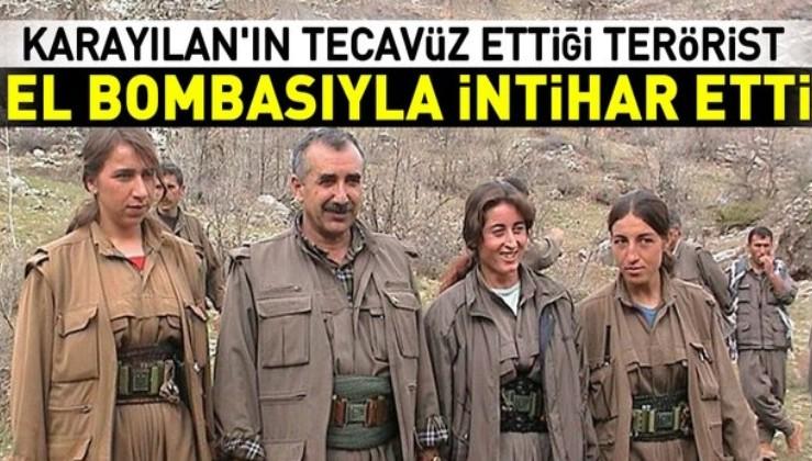 Murat Karayılan'ın tecavüz ettiği kadın terörist el bombasıyla intihar etti!