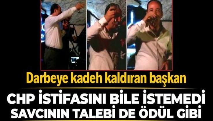 15 Temmuz'da alkollü alem yapan CHP'li Edirne Belediye Başkanı Recep Gürkan'a 2 yıl hapis istemi