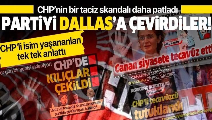 CHP'nin bir taciz skandalı da Esenler'de ortaya çıktı!