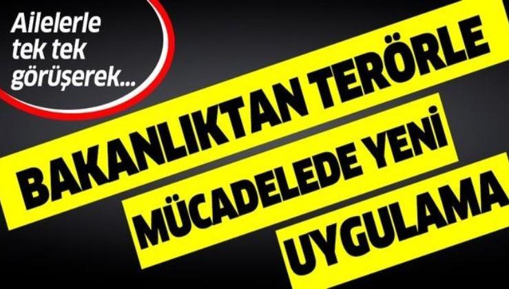 İçişleri Bakanlığı'ndan terörle mücadelede yeni uygulama!.
