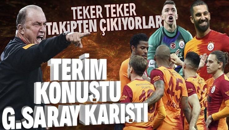 Fatih Terim konuştu Galatasaray karıştı! Teker teker takipten çıkıyorlar