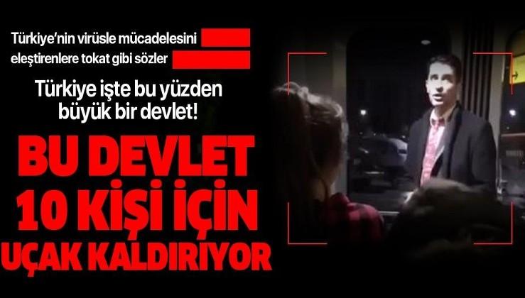 """Almanya'da havalimanında çalışan bir görevliden göz yaşartan sözler: """"Türkiye şuan buradaki 10 kişi için uçak kaldırıyor"""""""