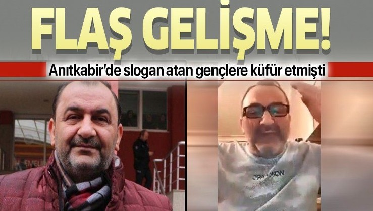 Anıtkabir'de slogan atan gençlere küfür eden provakatör tutuklandı!.
