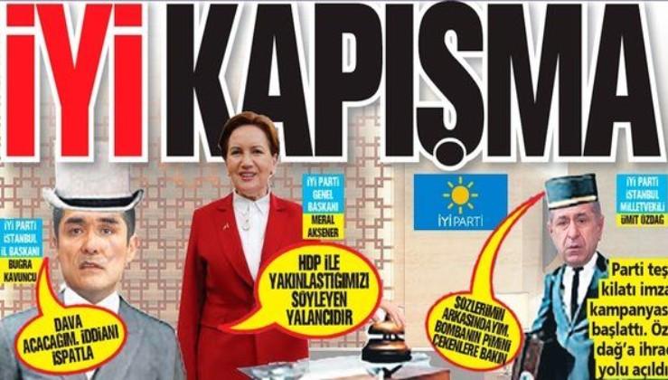 İYİ kapışma! Ümit Özdağ'ın FETÖ'cülükle suçladığı Buğra Kavuncu'ya Meral Akşener sahip çıktı