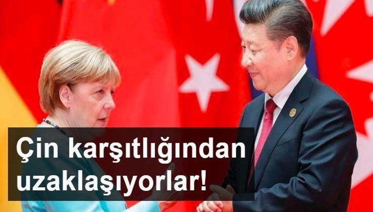 Almanya, ABD'nin Çin karşıtlığı politikasından uzaklaşıyor!
