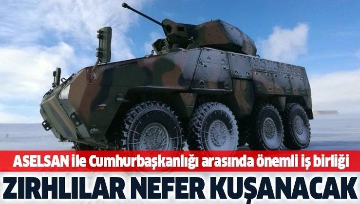 ASELSAN ile Cumhurbaşkanlığı arasında önemli iş birliği! Türk zırhlıları Nefer kuşanacak.