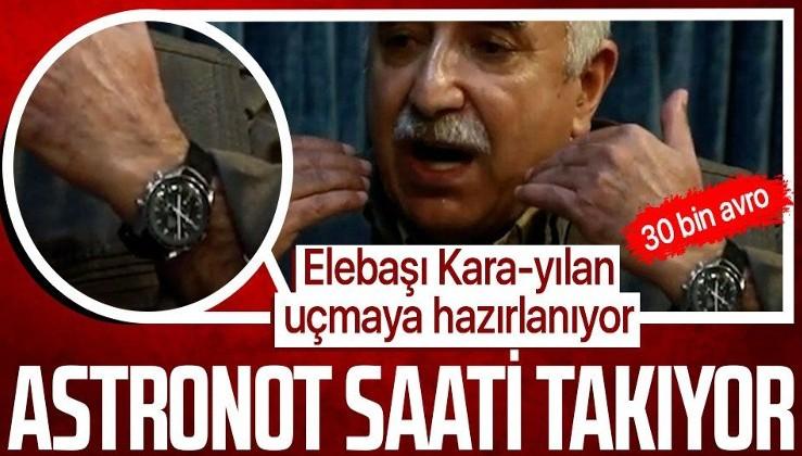 İnde yaşayan bölücü terör örgütü PKK'nın teröristbaşı Murat Karayılan'ın saatinin fiyatı dudak uçuklattı