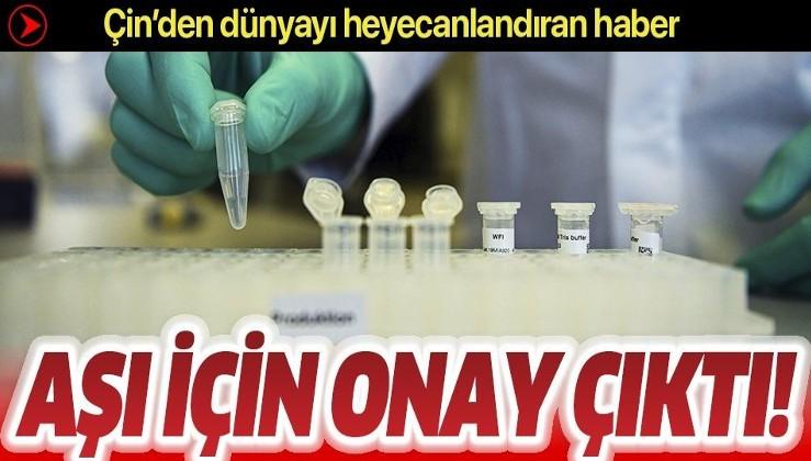 Son dakika: Çin'den flaş koronavirüs aşısı hamlesi!.