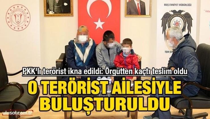 PKK'lı terörist ikna edildi: Örgütten kaçtı teslim oldu