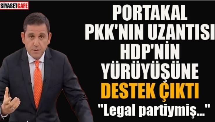 Portakal'dan HDP'nin yürüyüşüne destek!