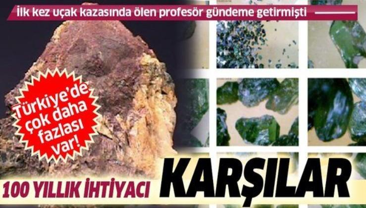 SON DAKİKA: 'Isparta'daki 20 bin tonluk 'toryum' rezervi, Türkiye'nin 100 yıllık enerji ihtiyacını karşılar'
