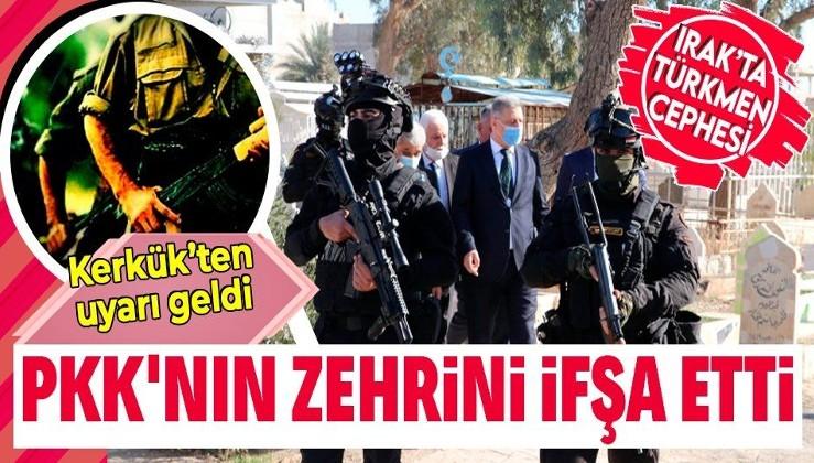 Irak Türkmen Cephesi: Terör örgütü PKK, Kerkük'te uyuşturucu ticaretiyle gençleri zehirliyor
