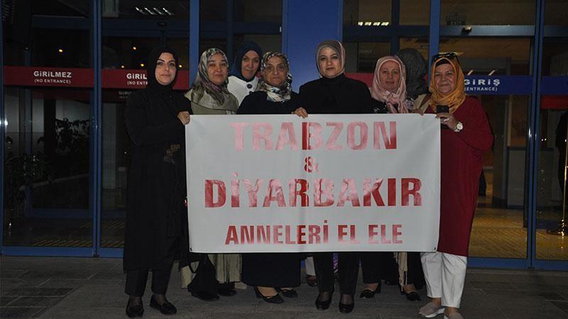 Trabzonlu anneler Diyarbakır'da