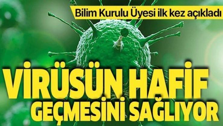 Bilim Kurulu Üyesi Prof. Dr. Selma Metintaş'tan flaş açıklama! Koronavirüsün hafif geçmesini sağlıyor!