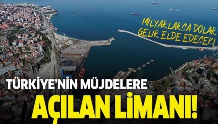 Karadeniz'de 'doğal gaz' keşfi, Filyos Limanı'nın önemini arttırdı!