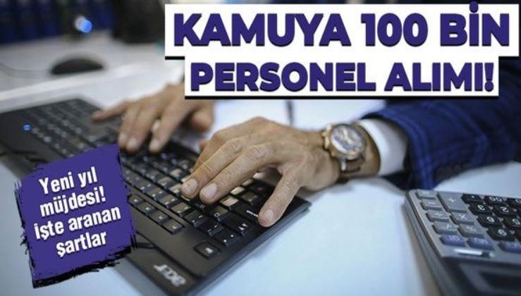 Yeni yıl müjdesi! Kamuya 100 bin personel alımı! Öğretmenden hemşireye mühendisten avukata...