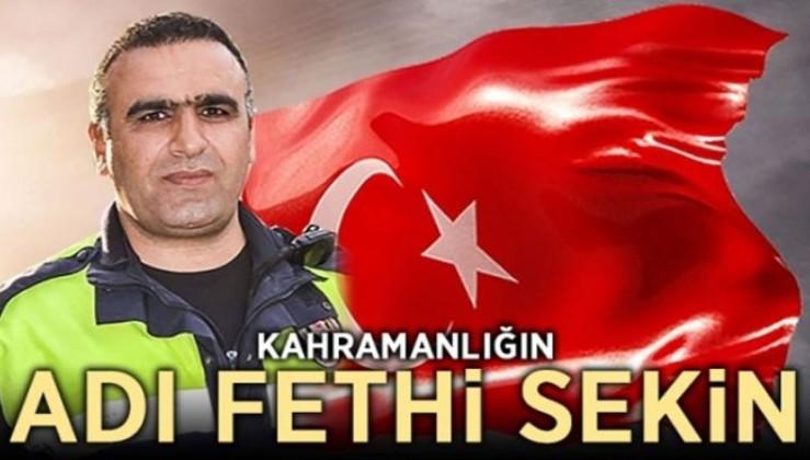 Kahramanlığın adı: Fethi Sekin