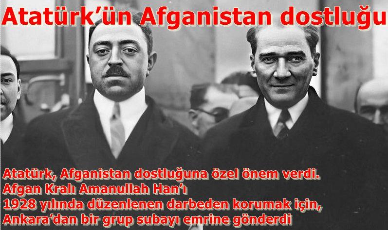 Atatürk'ün Afganistan dostluğu