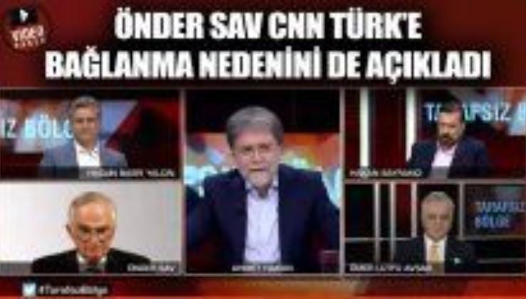 CHP'li Önder Sav da CNN Türk ambargosunu deldi!