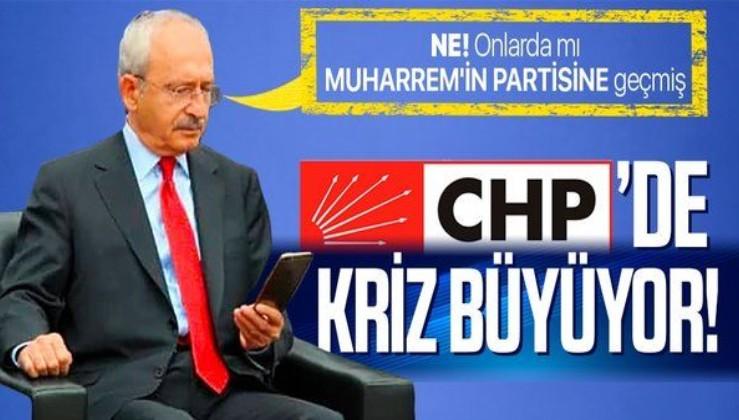 CHP'de istifa krizi büyüyor! Denizli'de bir grup partiden istifa etti! Muharrem İnce'nin partisine katılacaklar!