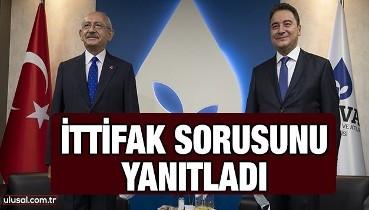 Kemal Kılıçdaroğlu ittifak sorusunu yanıtladı