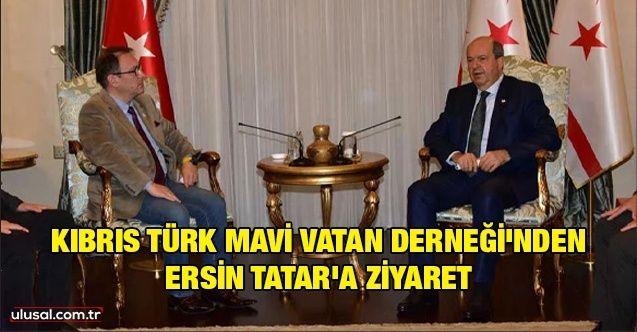 Kıbrıs Türk Mavi Vatan Derneği'nden Ersin Tatar'a ziyaret