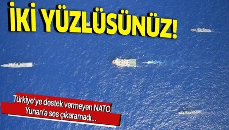 NATO Yunan'a sessiz kaldı!