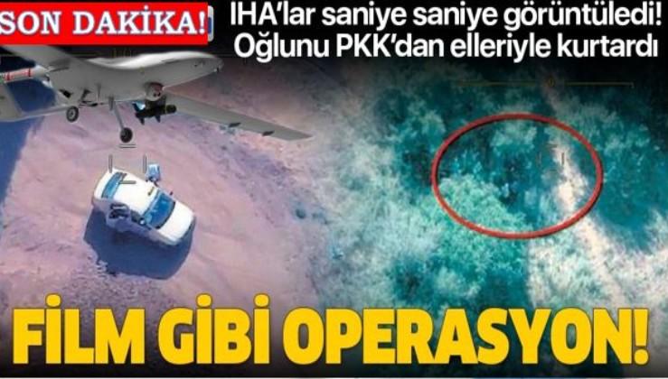 Film gibi 'anne' operasyonu: Oğlunu terör örgütü PKK'dan kendi elleriyle kurtardı
