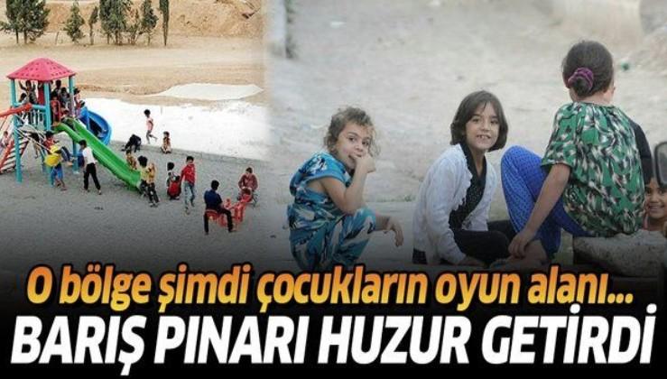 Mehmetçik huzur dağıtıyor! Barış Pınarı Harekatı, Tel Abyad ve Resaluyn'a özgürlük getirdi!