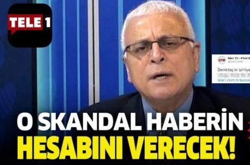Son dakika: PKK'nın gazetesinin eski Yazı işleri Müdürü, Tele1 Genel Yayın Yönetmeni Merdan Yanardağ ifade verecek