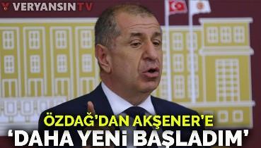 Ümit Özdağ: Bahçeli, Akşener'den daha demokrat!