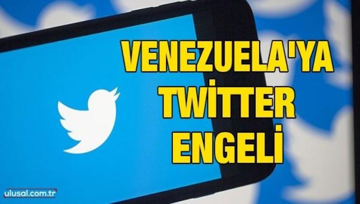 Venezuela'ya Twitter engeli