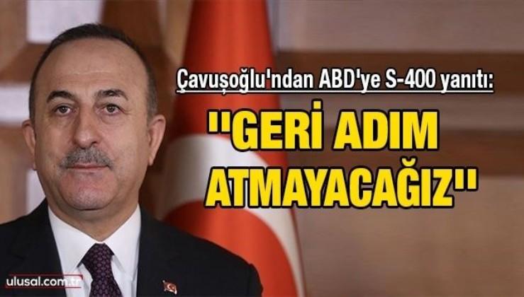 ''S-400 anlaşması CAATSA yasasından önce yapıldı, yaptırım Türkiye'ye uygulanamaz''