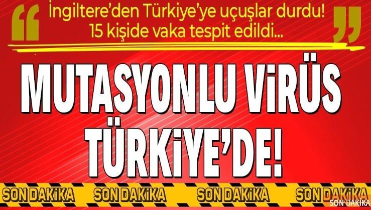 Son dakika: Sağlık Bakanı Fahrettin Koca açıkladı: Mutasyonlu koronavirüs Türkiye'de