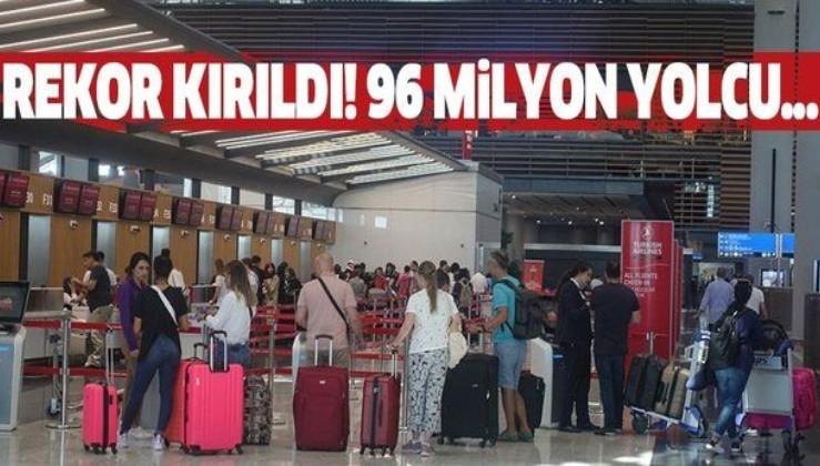 İstanbul'da rekor kırıldı! 96 milyon yolcu....