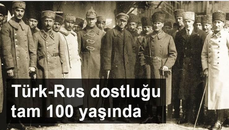 Rusya'dan Atatürk'lü jest: Türkiye-Rusya diplomatik ilişkilerinde 100. yıl