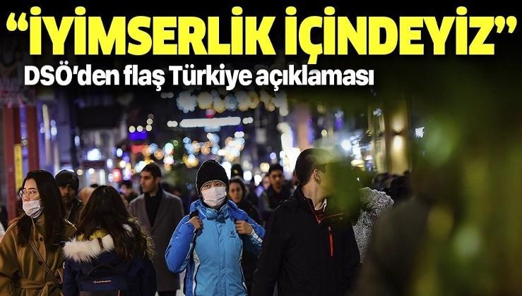 Son dakika: Dünya Sağlık Örgütü'nden flaş Türkiye açıklaması: İyimserlik içindeyiz