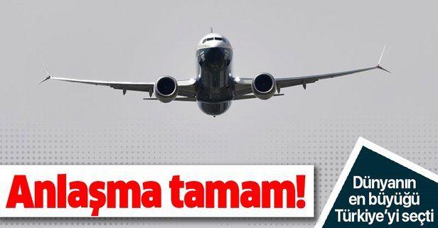 TUSAŞ ile Boeing arasında iş birliği anlaşması! Dünyanın en büyüğü Türkiye'yi seçti